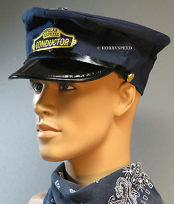 LIONEL THE POLAR EXPRESS ADULT CONDUCTOR HAT trains movie accessories 9-51016
