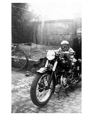1953 Zundapp Elastic Motorcycle Photo Poster zca2075