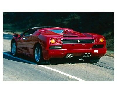 1996 Lamborghini Diablo Roadster VT Coupe Automobile Photo Poster zca2098