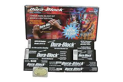 Dura-Block AF44HL 7pc. Hook and Loop Sanding Dura Block Kit