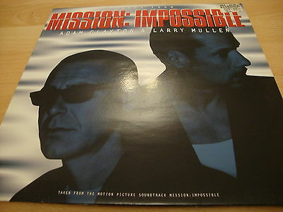 "Adam Clayton & Larry Mullen Theme From Mission Impossible (PS) 12""Vinyl Single"