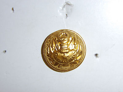 b2443 WW 1 and WW 2 French General Officer button Large gold B2D23