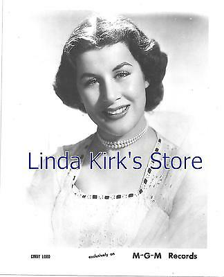 "Cindy Lord Promo Photograph Singer 4"" x 5"""