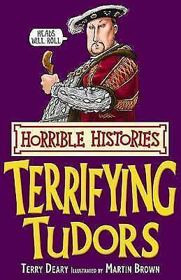 Terrifying Tudors (Horrible Histories), Deary, Terry, Very Good condition, Book