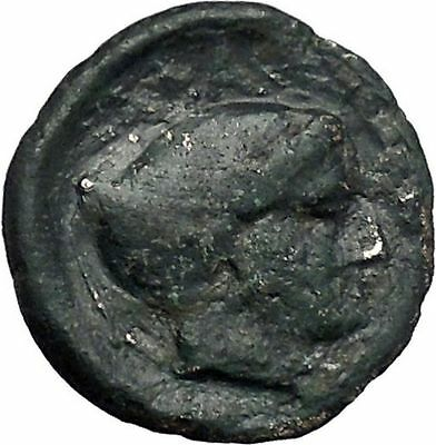 PHALANNA in THESSALY 350BC Ares Nymph Authentic Ancient Greek Coin i49210
