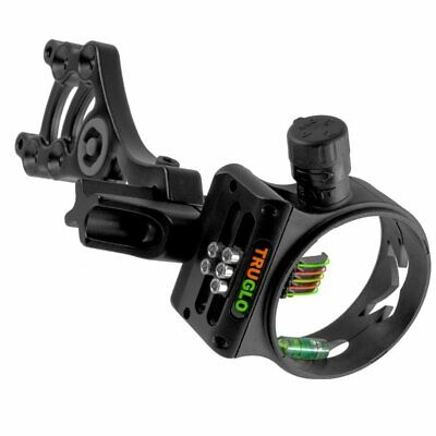New Truglo Archery Storm  5 Pin Compound Bow Field Target Sight Site Adjustable