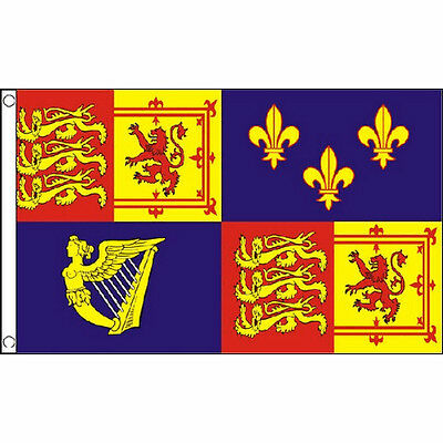 Royal Banner 16Th Century Flag 5Ft X 3Ft British Army Military Banner New