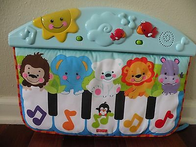 Fisher Price Precious Planet Kick & Play Piano Toy Soother Mat