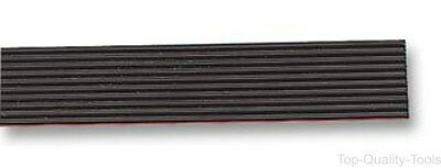 Ribbon Cable, Round Conductor Flat High Flex, Black, 14 Core, 28 AWG, 0.093 mm²,