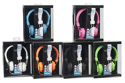 Grundig Kopfhörer Stereokopfhörer Headset Neon Audio Iphone TV MP3 CD TV Hörer