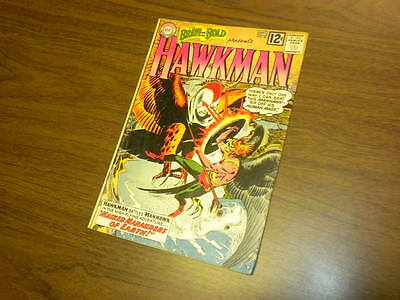 THE BRAVE AND THE BOLD #43 DC Comics 1962 HAWKMAN