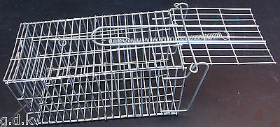 2 x Humane mouse trap, 20x 10 x 10, mouse trap, small rat trap, spring loaded,