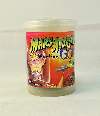 Vintage 1990s  Mars Attacks Martian Goo Slime - CONTAINER ONLY