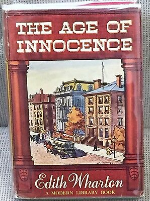 Edith Wharton The Age of Innocence First Modern Library Edition