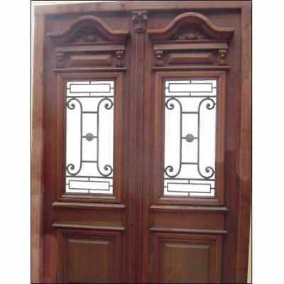 Amazing and pre-finished Double Entry Front Door A1518