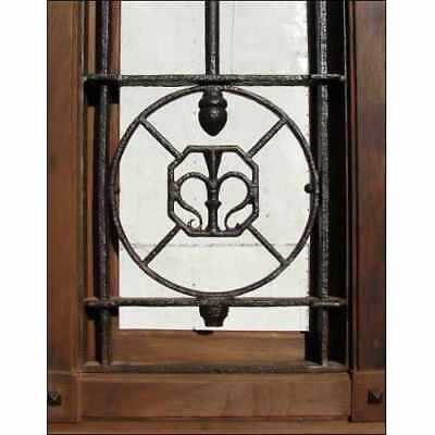 Prehung Double Entry Front Wood Door - Antique & Restored A1952
