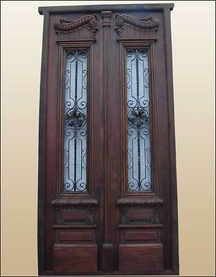 Amazing Italian Double Entry Door Pre-hung and fully restored B1166