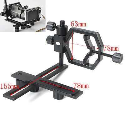 Universal Stand Metal Spotting Scopes Telescope Mount Bracket For Digital Camera