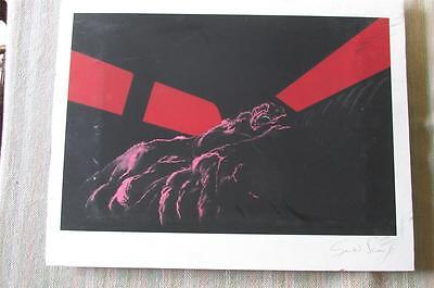 GERALD SCARFE Limited Edition PINK FLOYD  THE WALL Print (3)  * ARTIST SIGNED *
