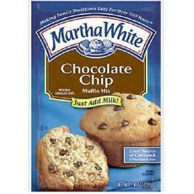 Martha White Chocolate Chip Muffin Mix 7 oz Bag
