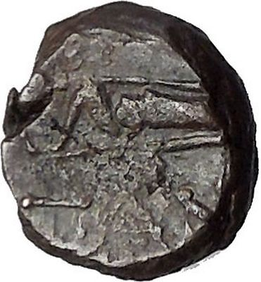 Pantikapaion in Tauric Chersonesos 3rdCentBC RARE Ancient Greek Coin BOW  i50243