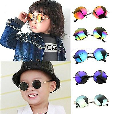 Baby Fashion Kids Boys Girls Childrens UV Protection Goggles Eyewear Sunglasses