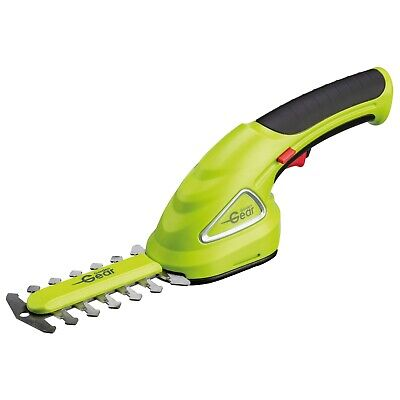 Cordless Hedge Trimmer 3.6v Electric Cutter Grass Shears 2 in 1 NEW Garden Gear