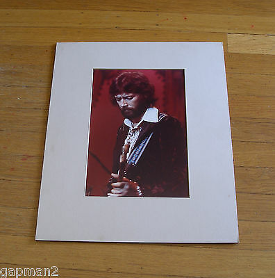 Eric Clapton Matted Color George Specht Photograph