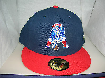 ... denmark new england patriots throwback logo 59fifty new era fitted hat  cap b913a d53f1 f7b59612b53d