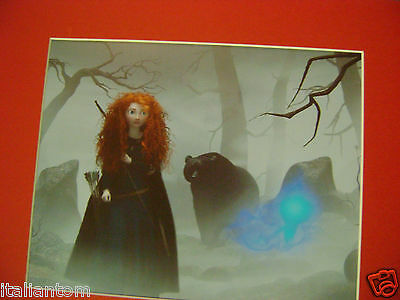 Matted Disney Brave Merida Bear Cel Cell Animation Art