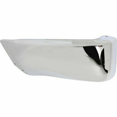 Bumper Face Bar End New Chrome Rear Left Hand Driver Side LH TO1104103