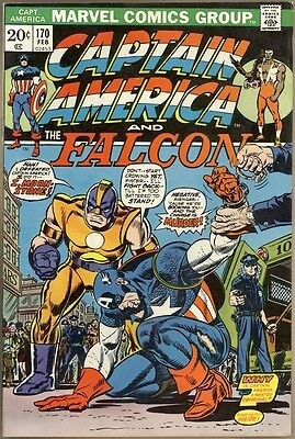 Captain America #170 - FN/VF
