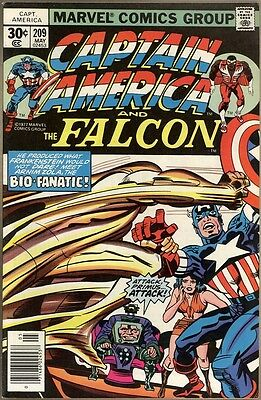 Captain America #209 - VF-