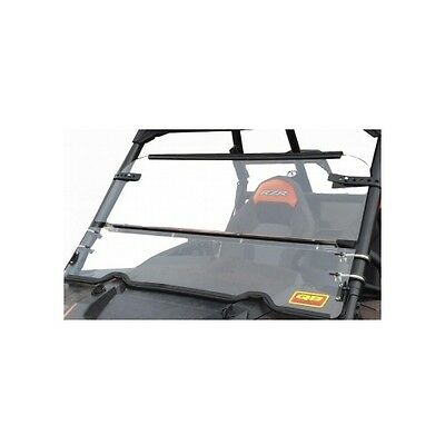 QuadBoss Folding Windshield For Polaris Ranger 500 00-08
