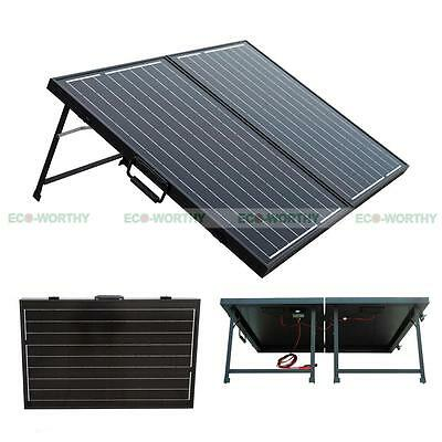 100W 12V Folding Solar Panel Solarmodule Panneau Solaire Pliable for Camping RV