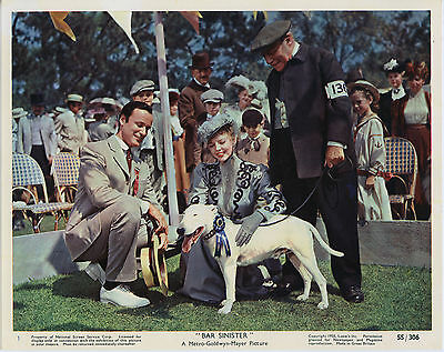 BULL TERRIER/BAR SINISTER original 1955 movie lobby color still EDMUND GWENN
