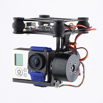 FPV 2 Axis Brushless Gimbal With Controller For DJI Phantom RC GoPro Hero 4 3 2
