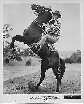 SMOKY original 1966 movie publicity still photo FESS PARKER caption on back