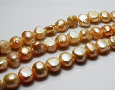 25 pcs 7-8mm Natural PEACH FRESHWATER PEARL BEADS GRADE A