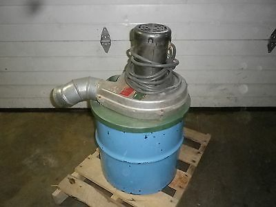 Drum dust collector  0.5hp 230v 3ph