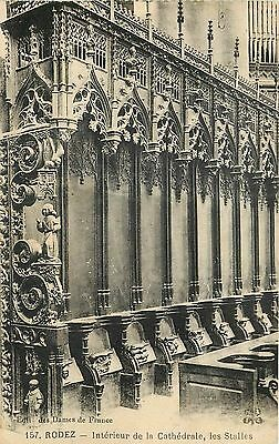 12 Rodez Interieur Cathedrale Stalles