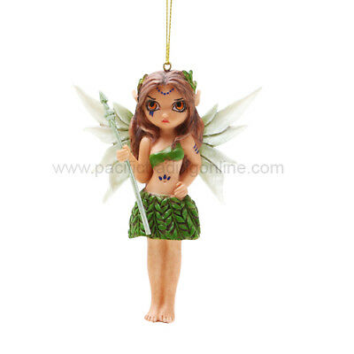 TRIBAL FAERIE Fairy Ornament Jasmine Becket-Griffith Strangeling warrior faery