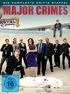 Major Crimes - Season/Staffel 3 * NEU OVP * 4 DVDs