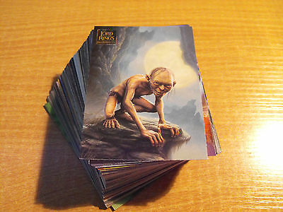 Lord Of The Rings Masterpieces Complete Basic Set Of 90
