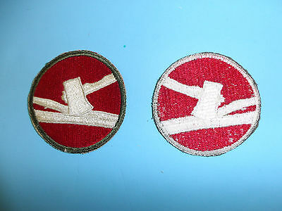 b5641  WWII US Army SSI for the 84th Division Rail Splitters