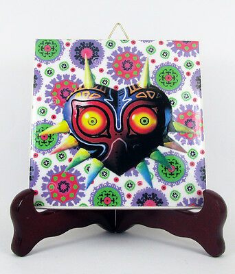 Majora's Mask The Legend of Zelda Tile 100% handmade in Italy Link Nintendo