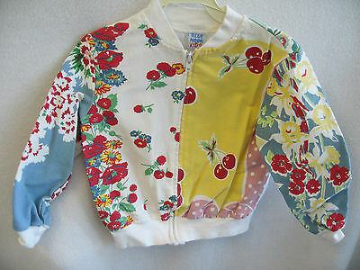 SUPER CUTE! Blue Moon Girls Vintage Pattern Floral Jacket 3T Kids Clothing NEW!!