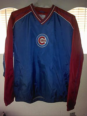 Chicago Cubs 2-Tone Windbreaker XL NWT Lester Bryant Rizzo Soler Castro