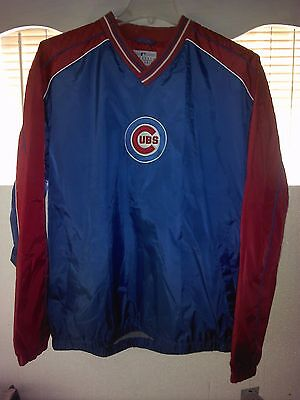 Chicago Cubs 2-Tone Windbreaker Large NWT Lester Bryant Rizzo Soler Castro