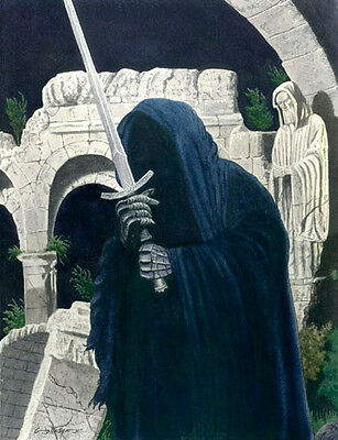 Ringwraith Lord Of The Rings Art Print #1